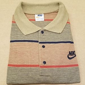 NWT Nike Men's striped polo shirt sz XL